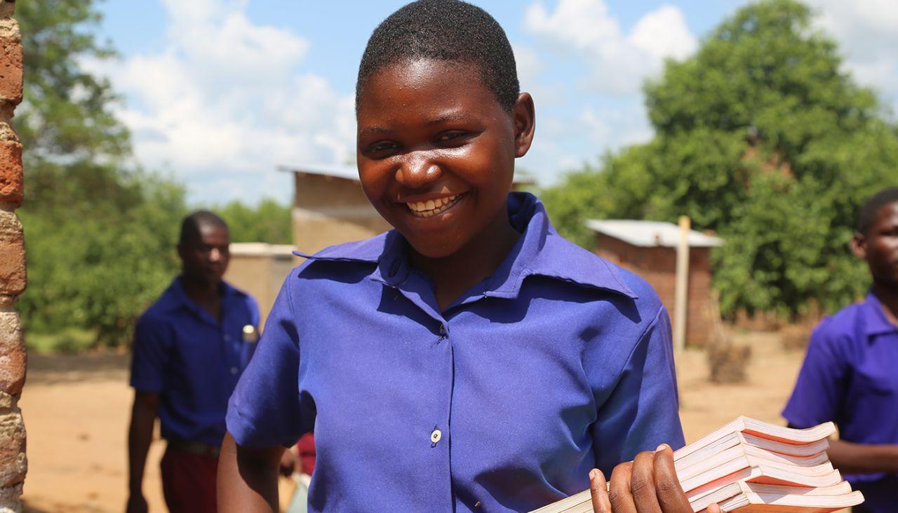 Food program keeps girls in school