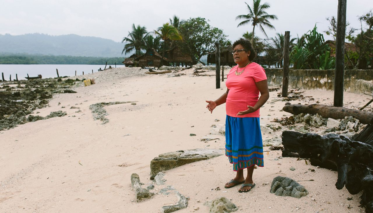 What problems is climate change causing in the Pacific?
