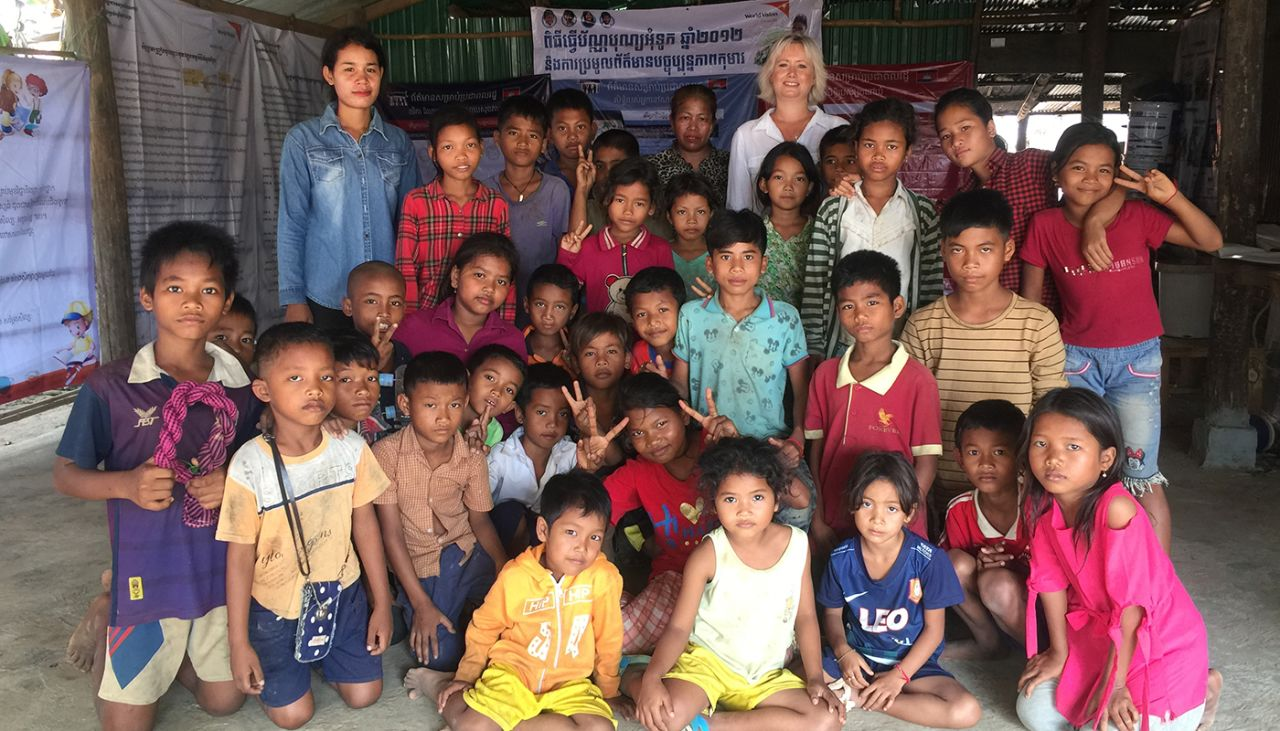 Louise, shares her experience of visiting her sponsor child