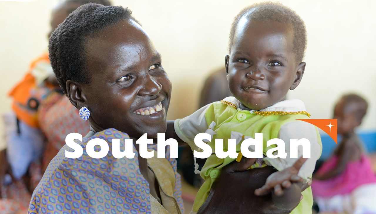 Be there for the Children of South Sudan