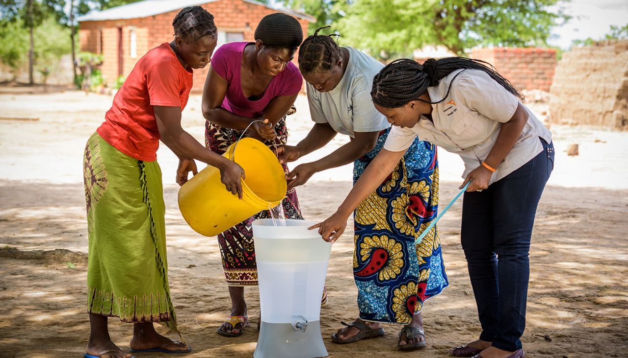 Our clean water work in Africa is changing lives