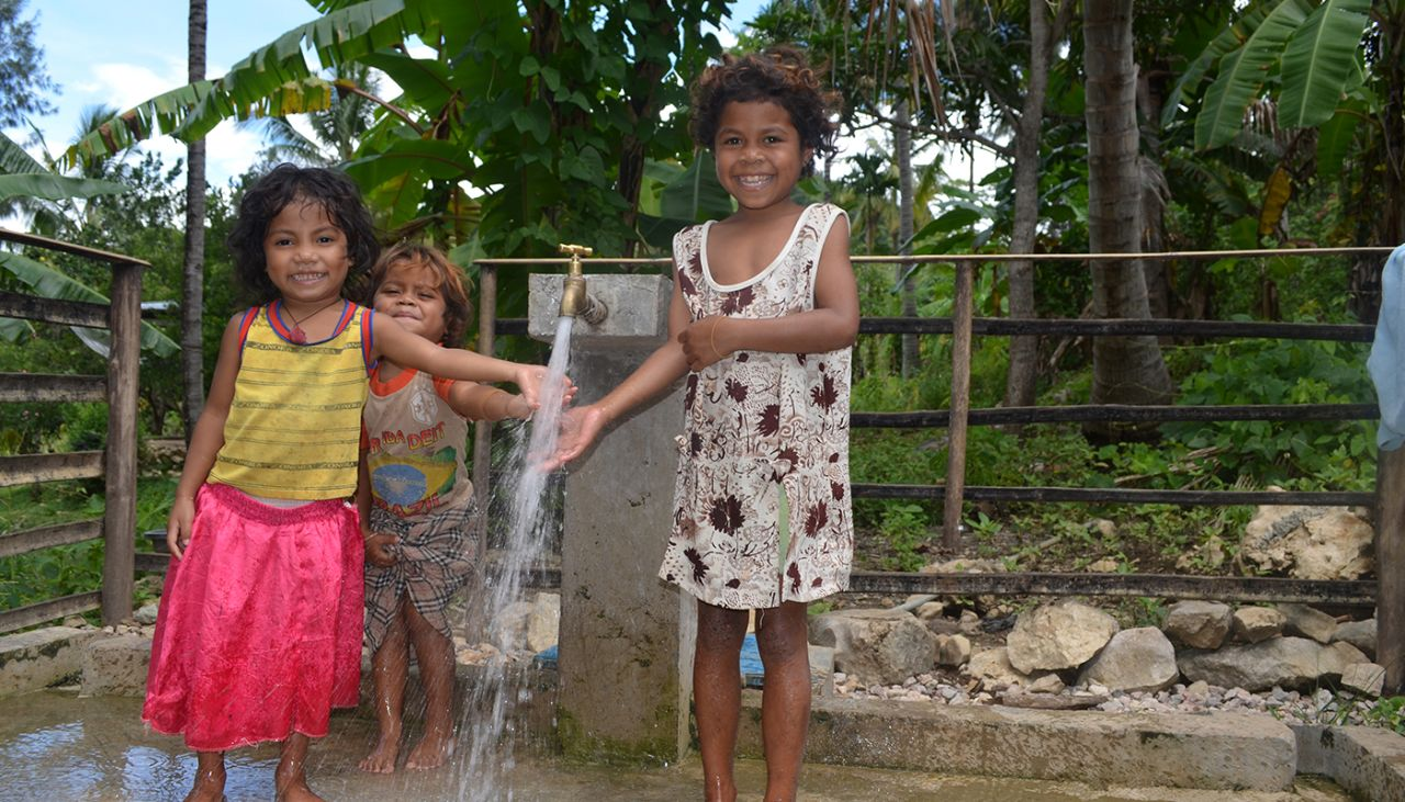 We're working to increase access to clean water in Baucau