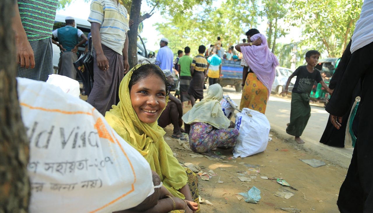 World Vision is on the ground delivering emergency aid
