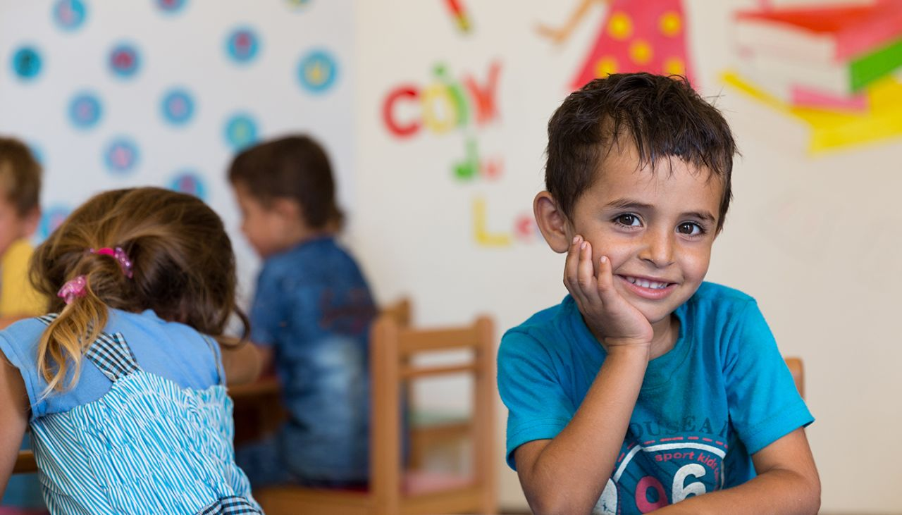 Your support is helping thousands of Syrian children