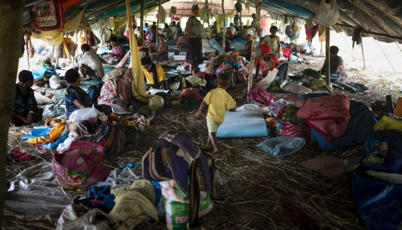 World Vision is providing emergency relief in PNG