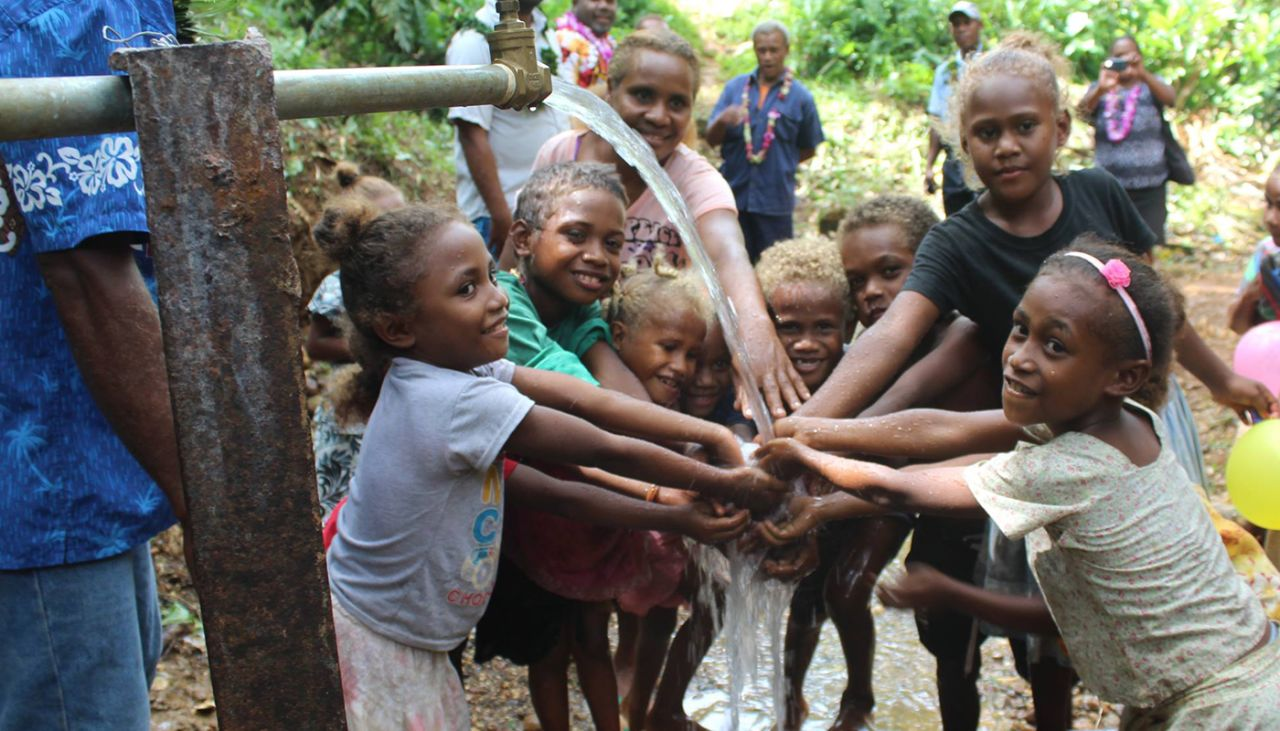 World Vision now reaching one person with clean water every 10 seconds