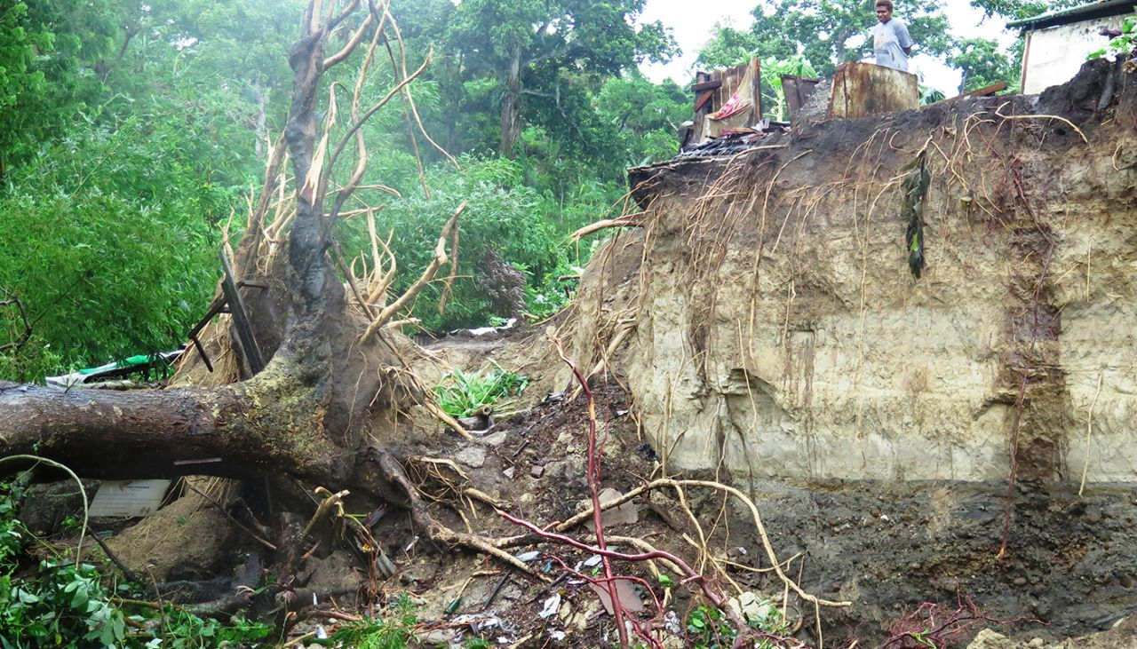 First reports of damage from Cyclone Donna, World Vision on the ground