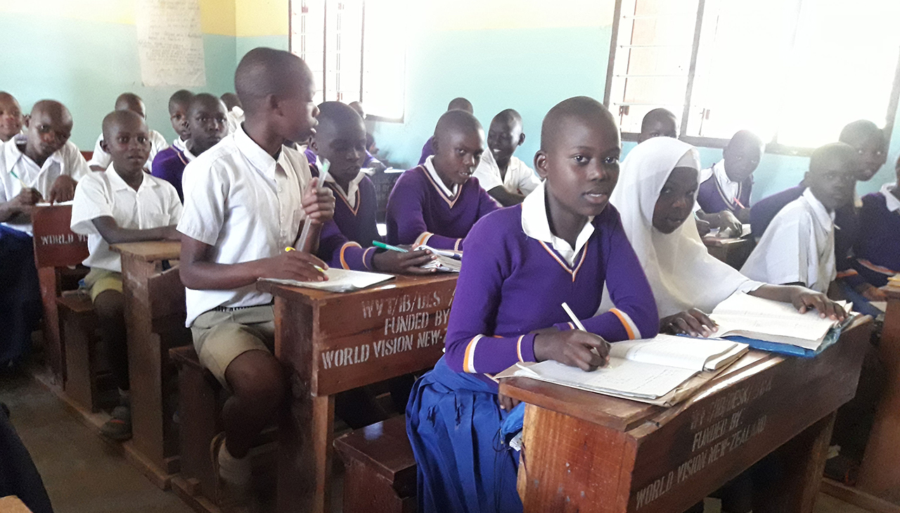 Improving education in Ibwera