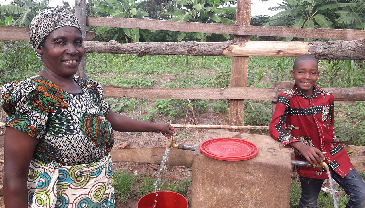 Clean water in Ibwera