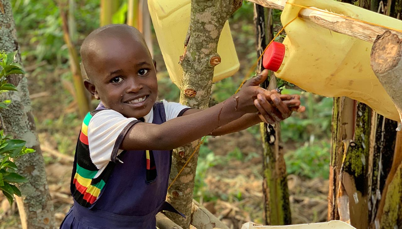 Clean water in Ibwera