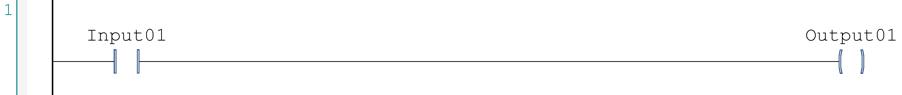 PLC Discrete Programming basic diagram