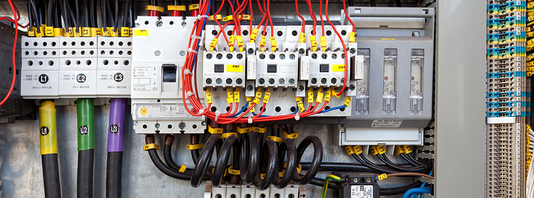 Industrial Control Panel Power Distribution and Conditioning