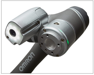 OMRON built-in intelligent vision camera system with lighting