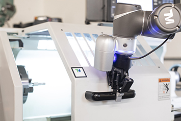 Collaborative robot assembly application