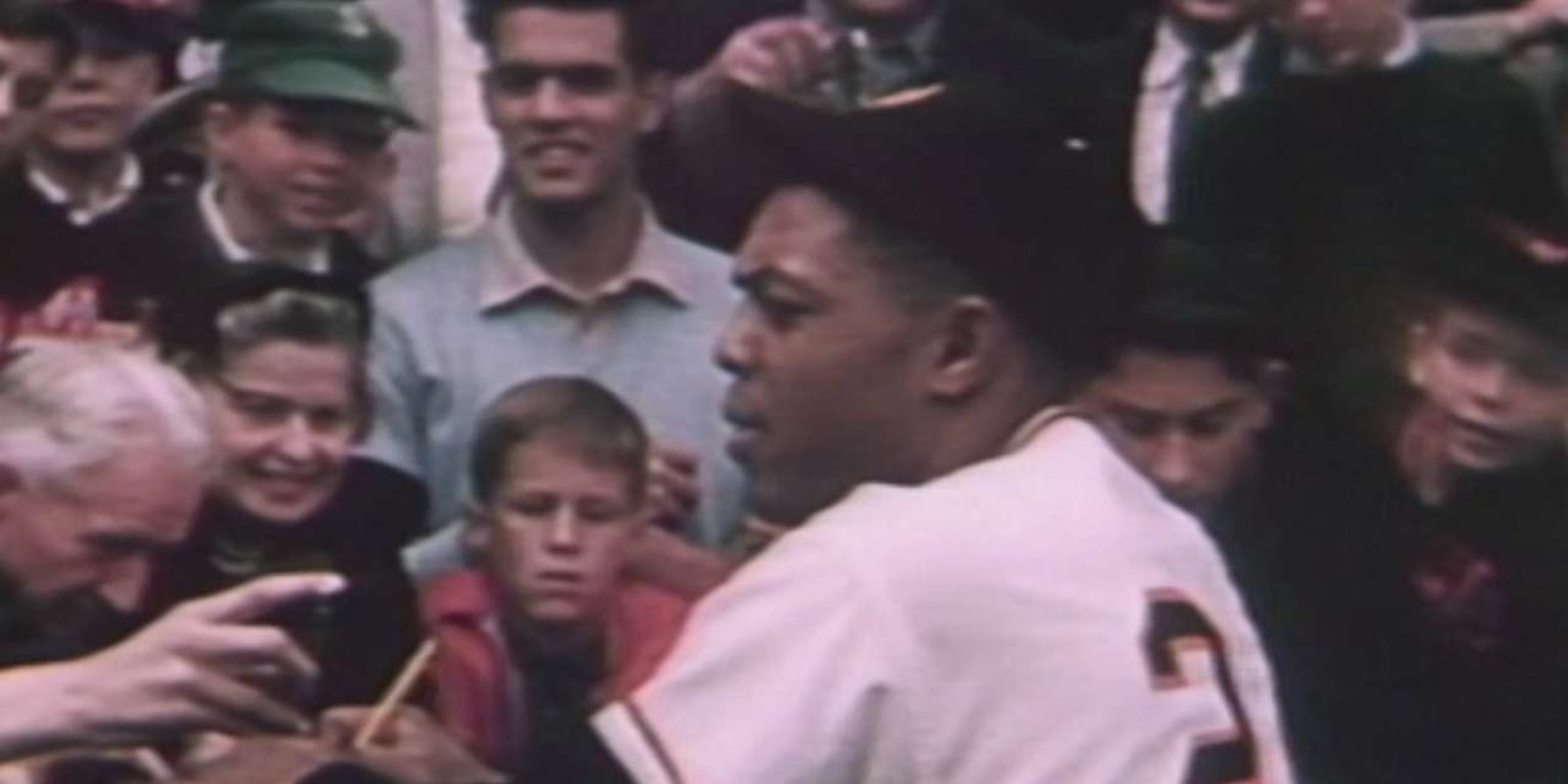 Watch rare footage of the Giants' final game at the Polo Grounds in vivid color