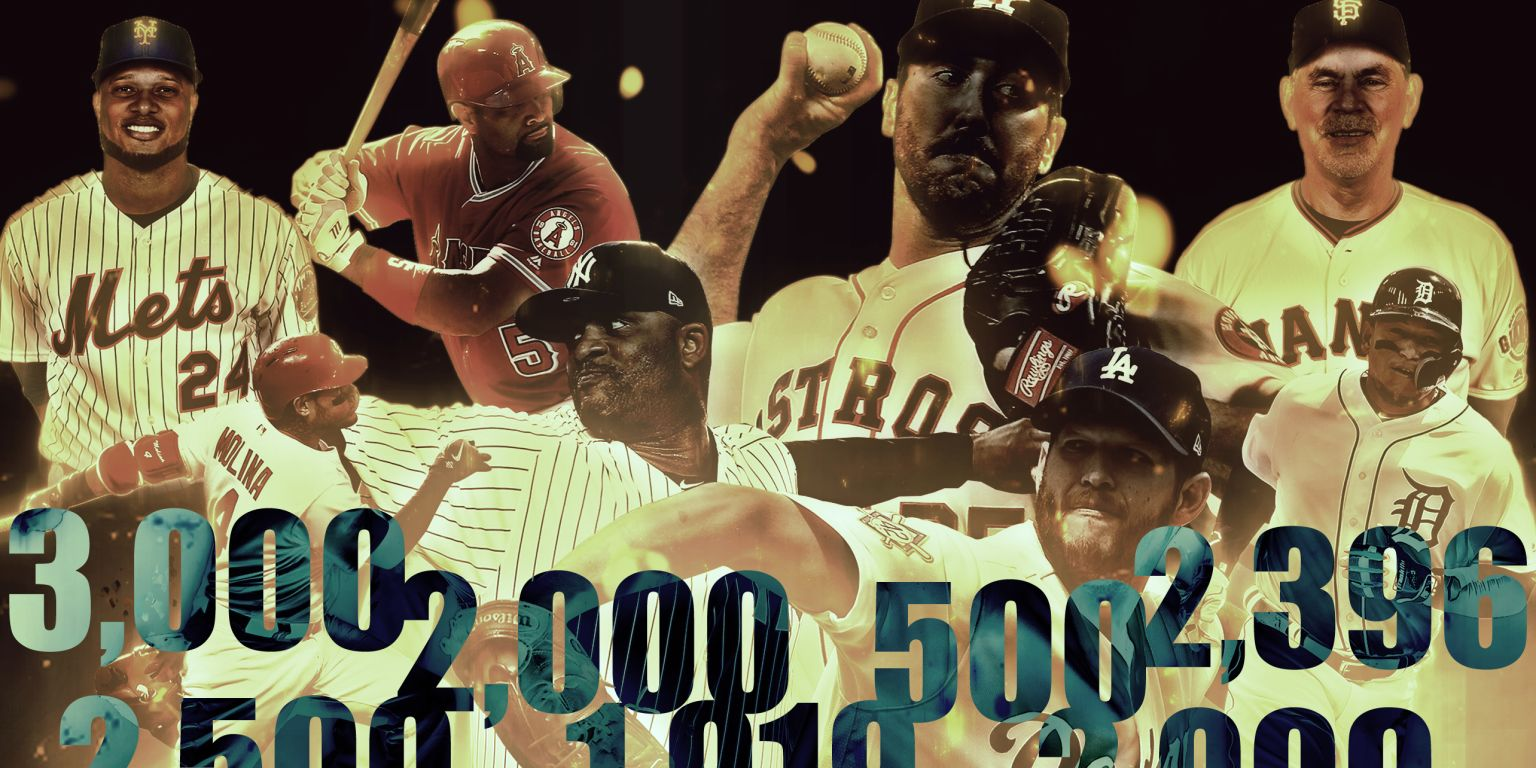 MLB career milestones to watch for in 2019