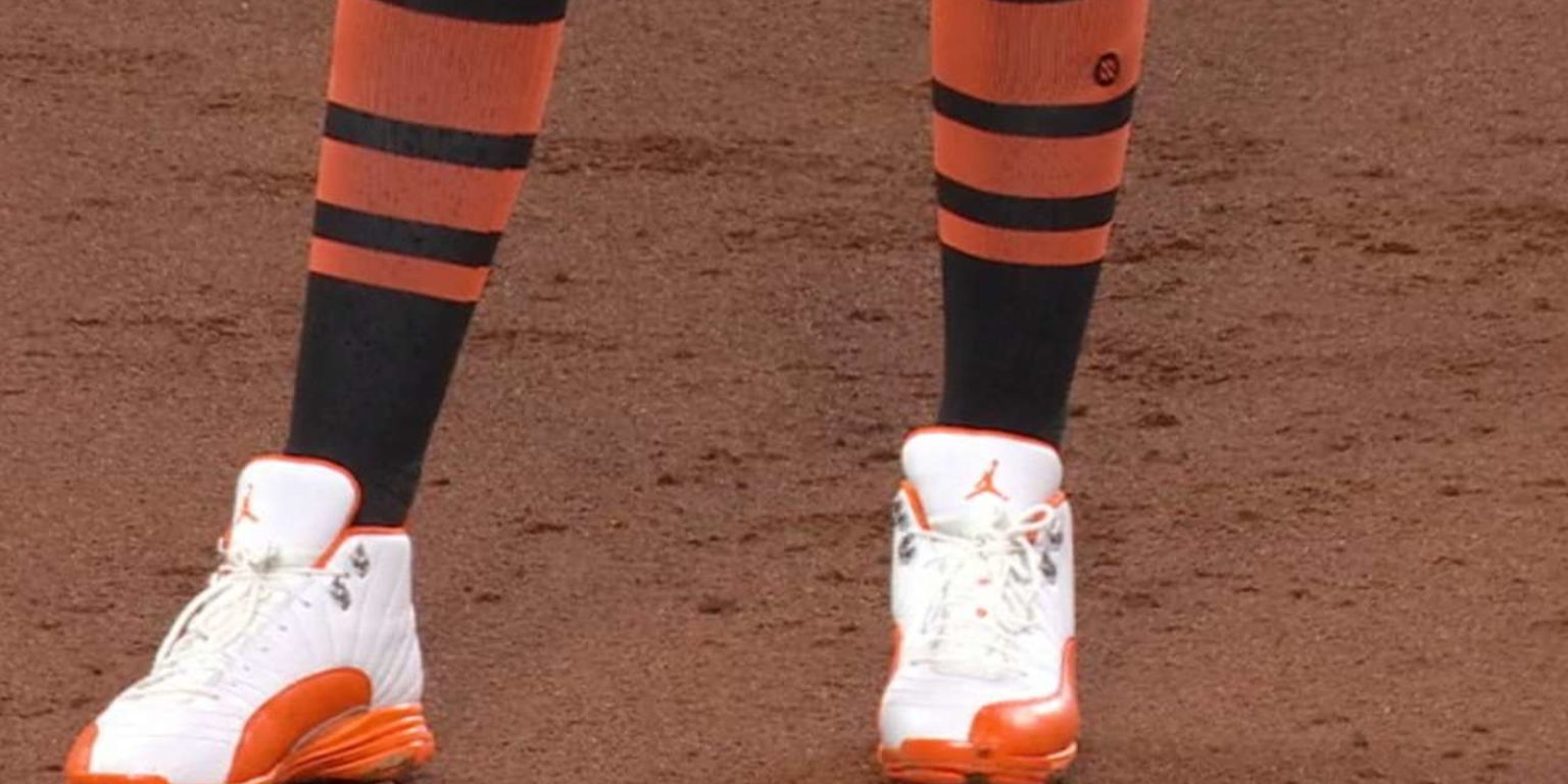 Check out Manny Machado s cool Opening Day cleats 42131bc5b3