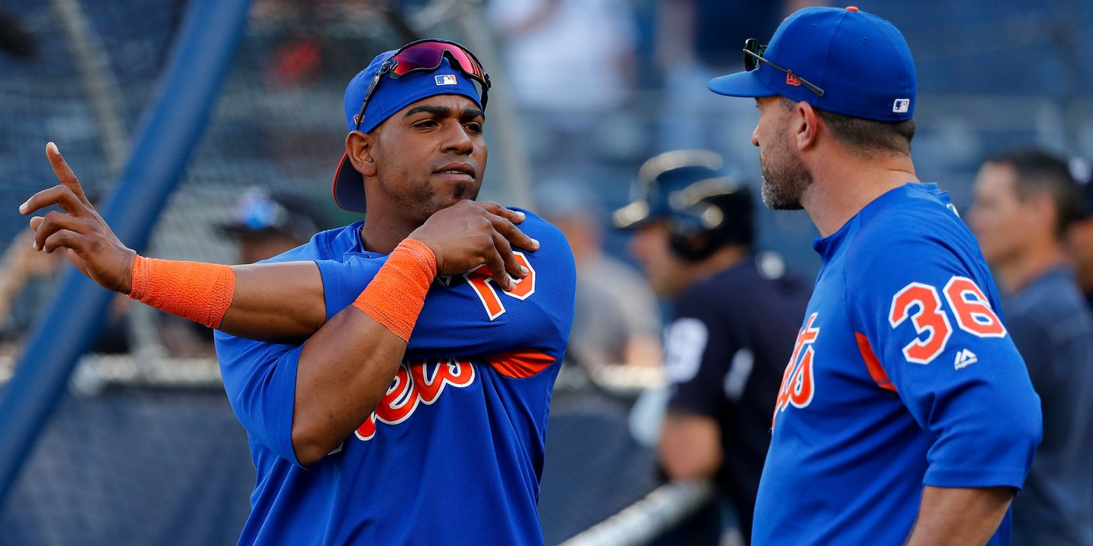 a3af3f6a808 Mickey Callaway on Yoenis Cespedes  heel issue