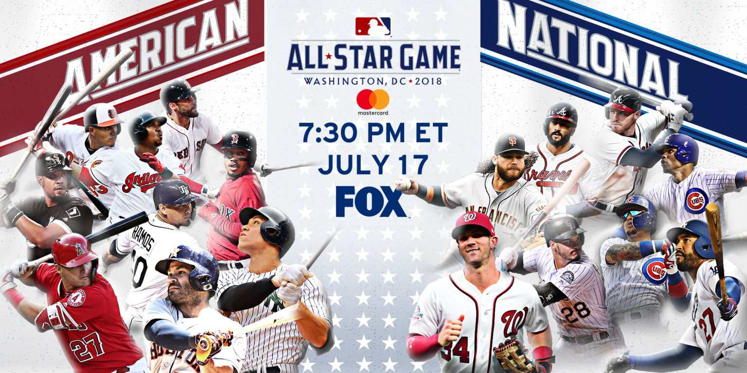2018 MLB All-Star rosters announced  5af637ed396