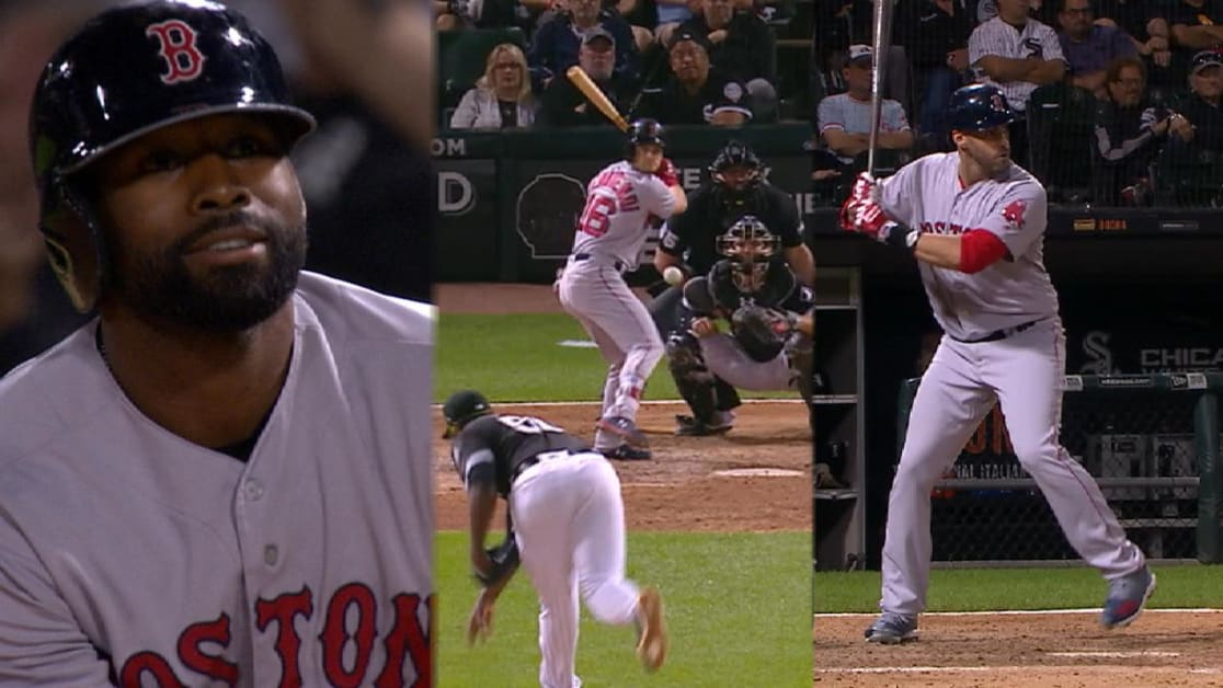 Red Sox take lead with 5 in 9th 401e55273