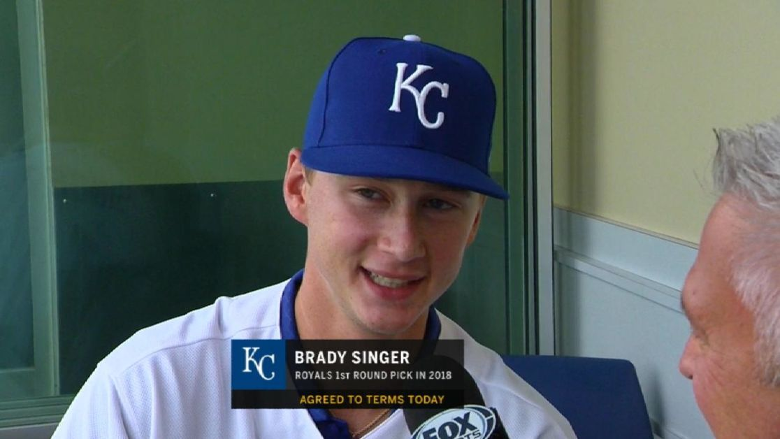 7539bd28b05 Brady Singer the Royals  new No. 1 prospect