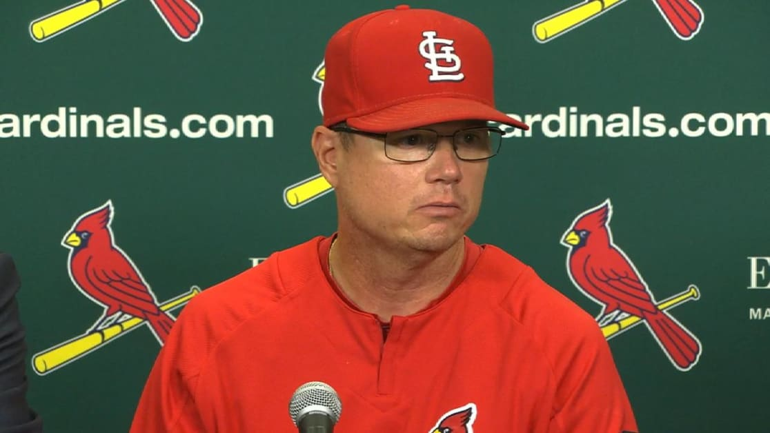 Cardinals name Mike Shildt manager  3f7aa90dc