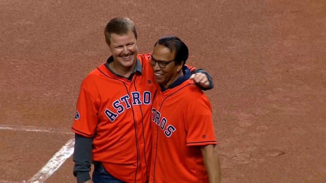 dac9c4018 Jeff Kent reunites with Astros for ALCS Game 5
