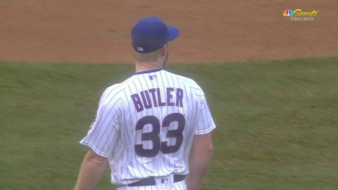 Kris Bryant out of Cubs  lineup with injury  c1b48adb7