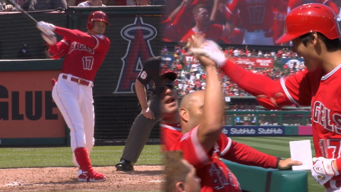 ba48a9d98 Ohtani homers in second straight game