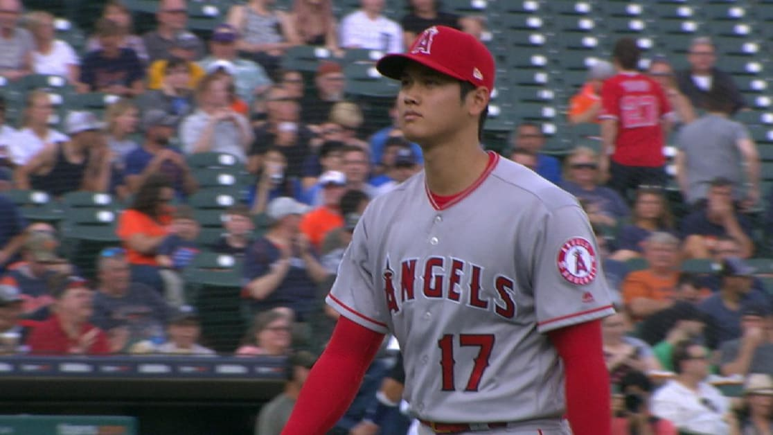 23d4a88b1 Shohei Ohtani throws fastest pitch for starter