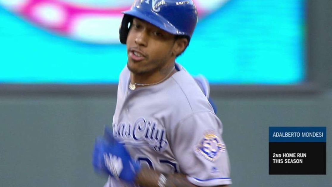 3a5d1939ae1 Adalberto Mondesi homers to power Royals