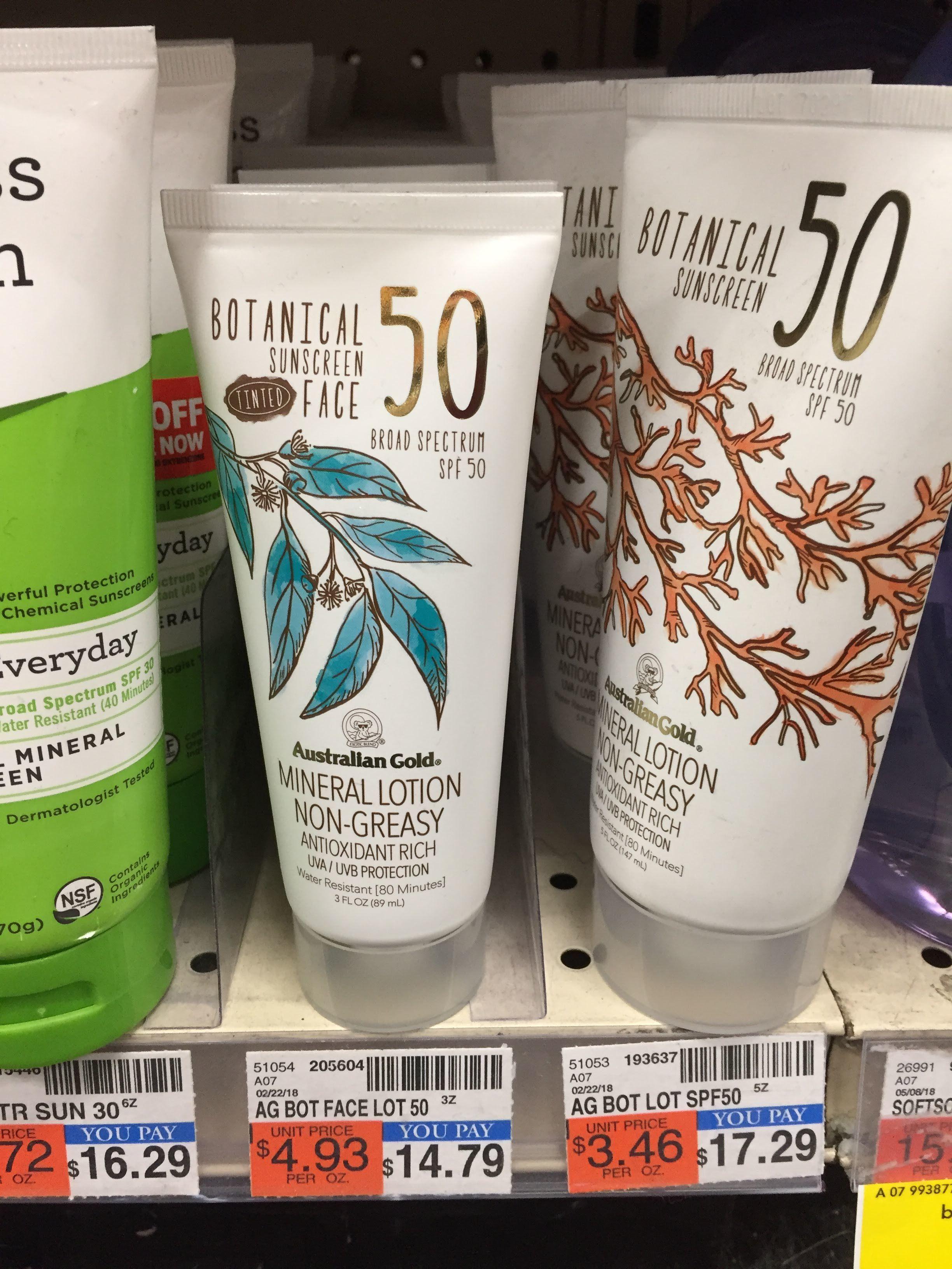 australian gold tinted face sunscreen price comparison
