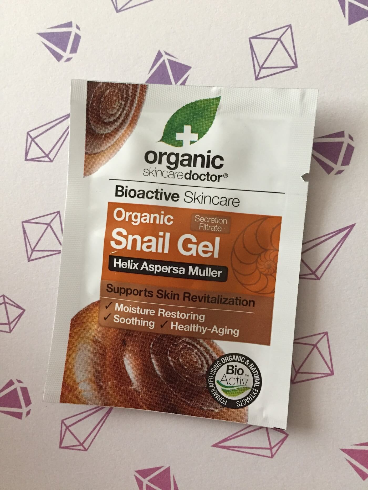 organic doctor snail gel review