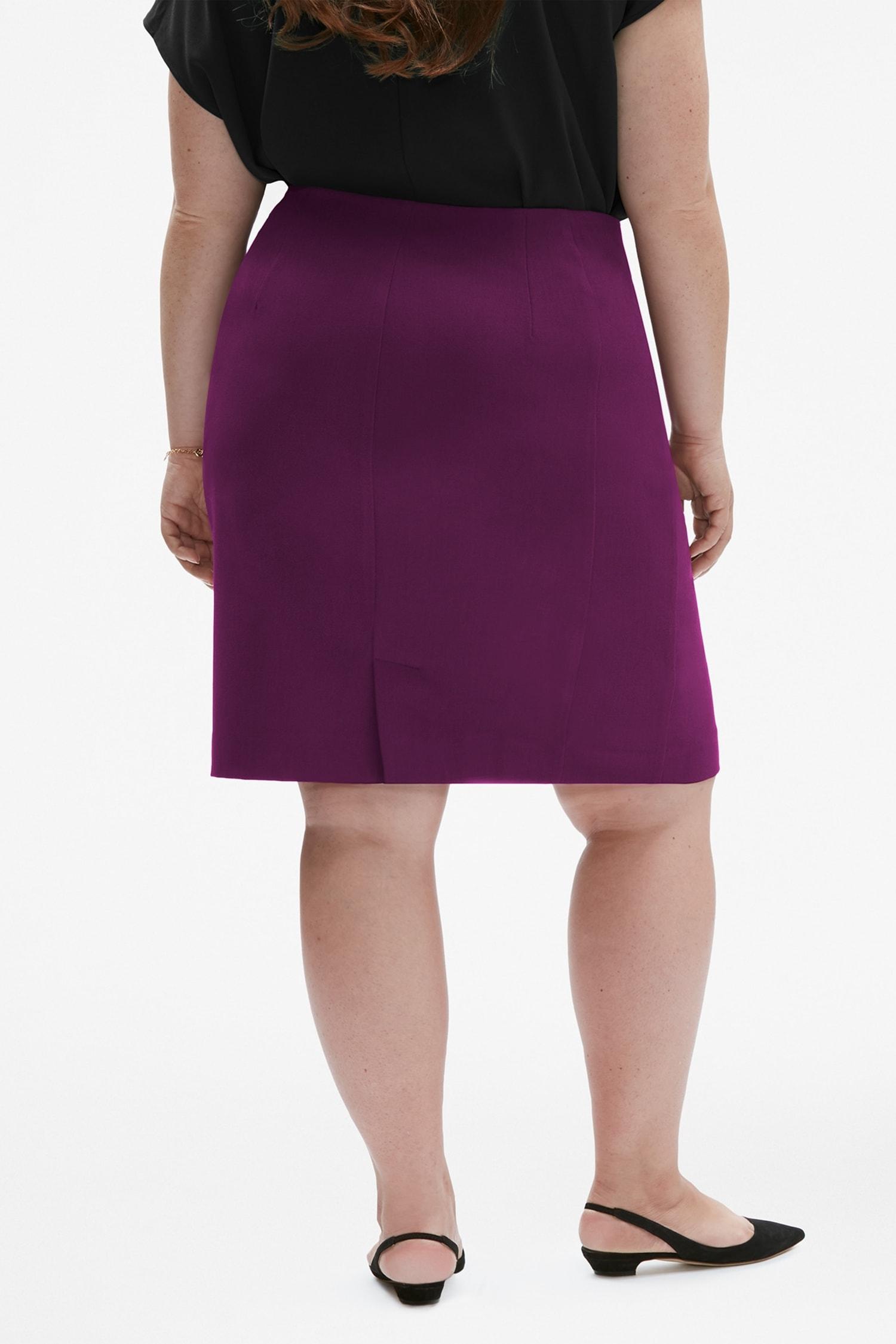 The Noho Skirt Deep Plum 130