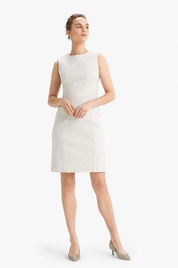 b94235c367f The Shirley Dress—Micro Jacquard