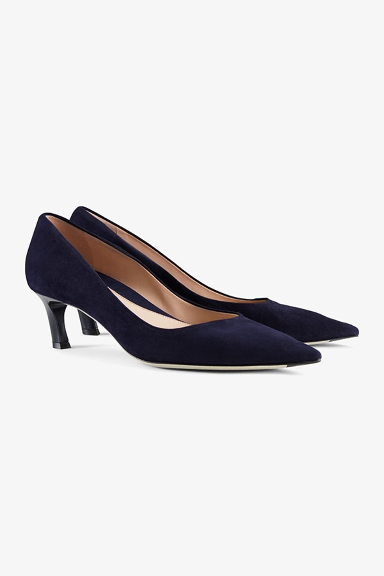 070678f9401d Lillian Pump—Suede    Navy 1