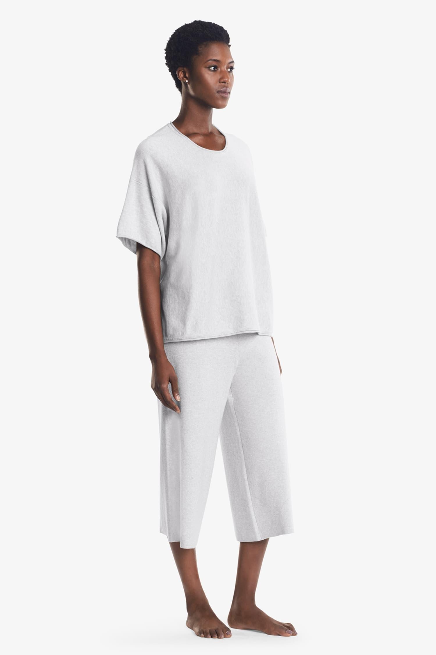 93ba650a519e Cotton Cashmere Pajama Set    Pearl Gray 3