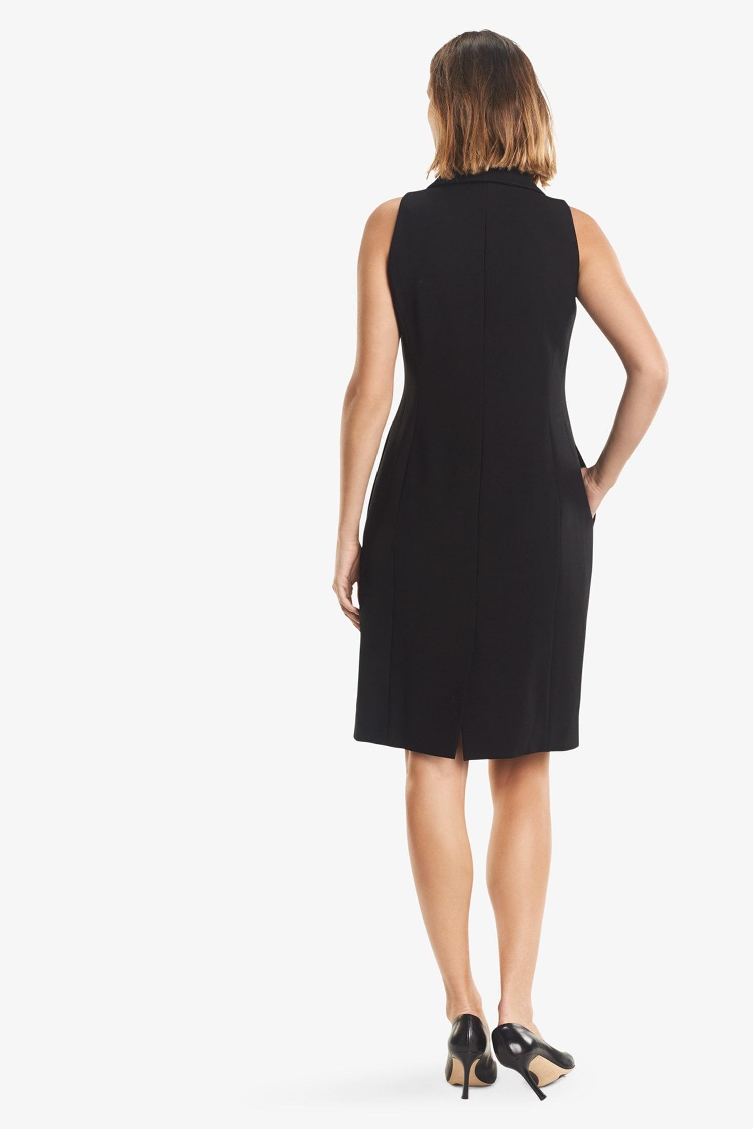 59b8e8dd388 Dana Dress—Tuxedo    Black 3