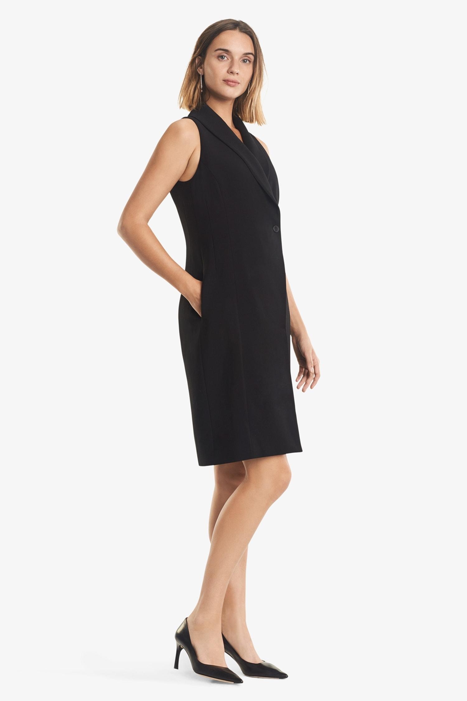 95cf88faad5 Dana Dress—Tuxedo    Black 2