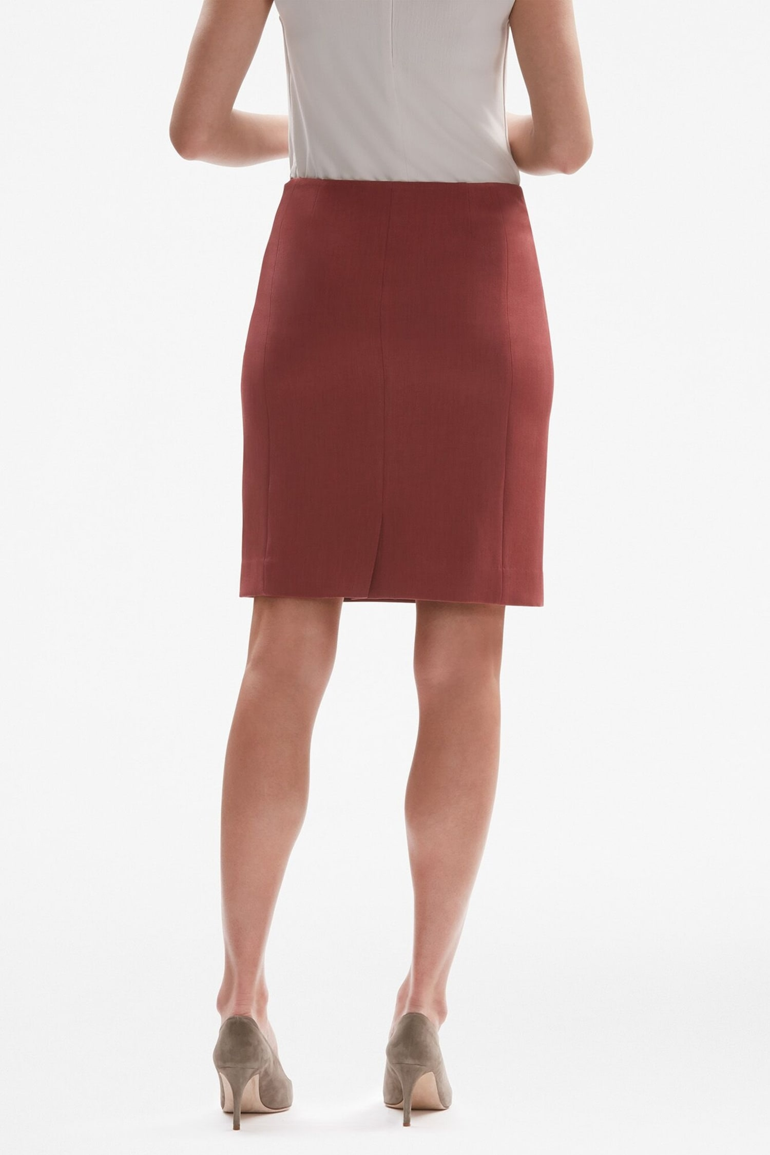 80460b76dc Noho Skirt - Brick Red   MM.LaFleur