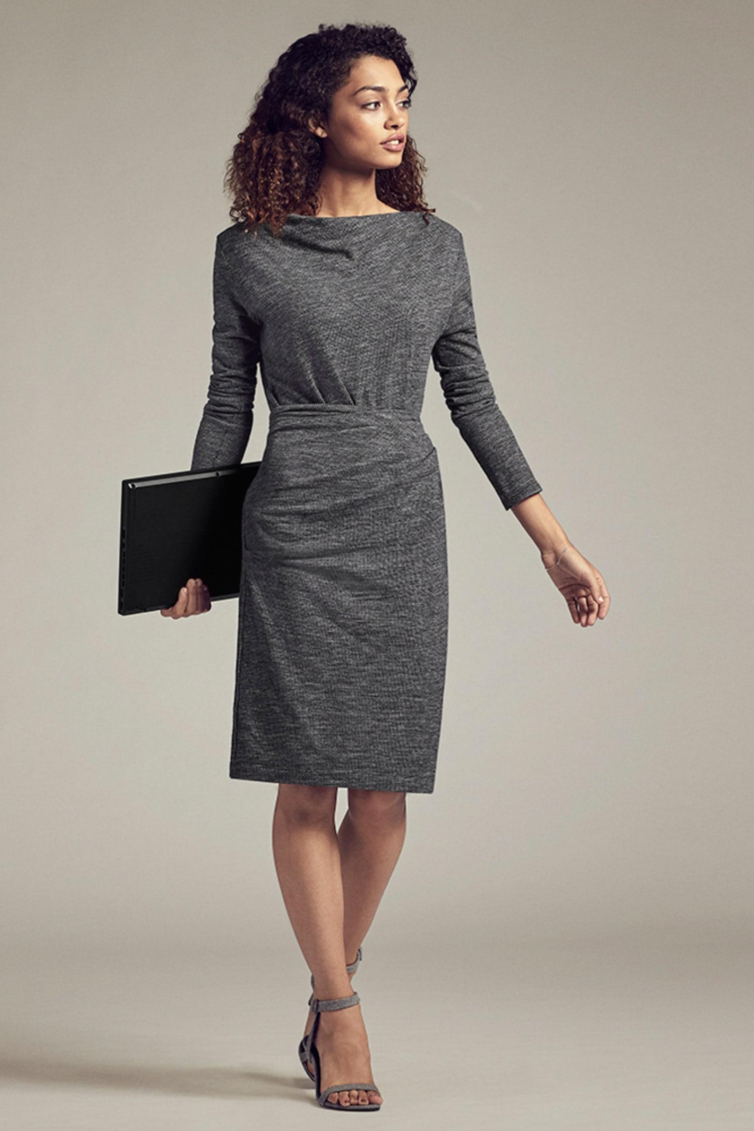 f21d4d95fa2 Soho Skirt—Mini Houndstooth    Black   Gray 1