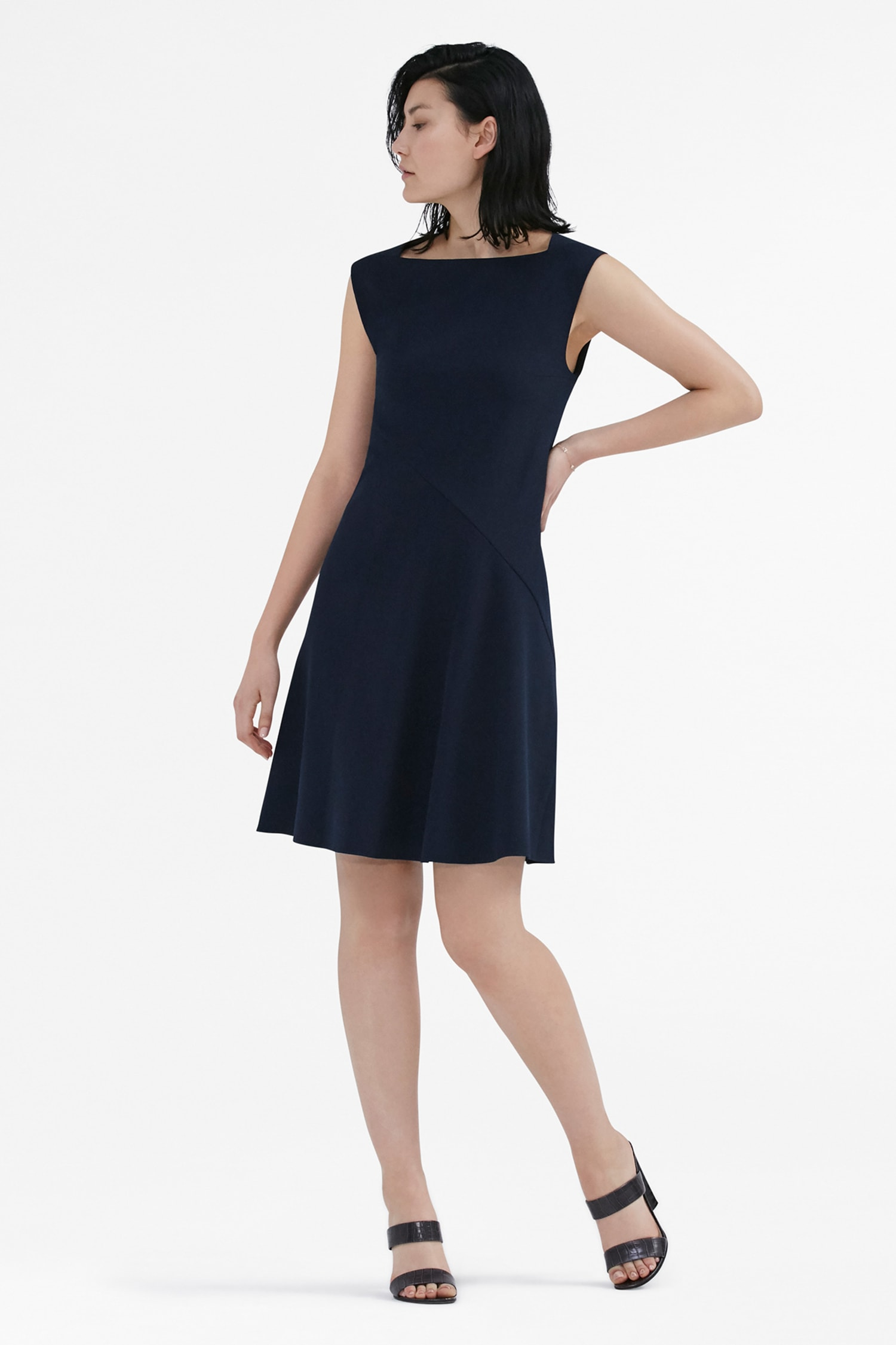 Pauline Dress - Galaxy Blue | MM.LaFleur