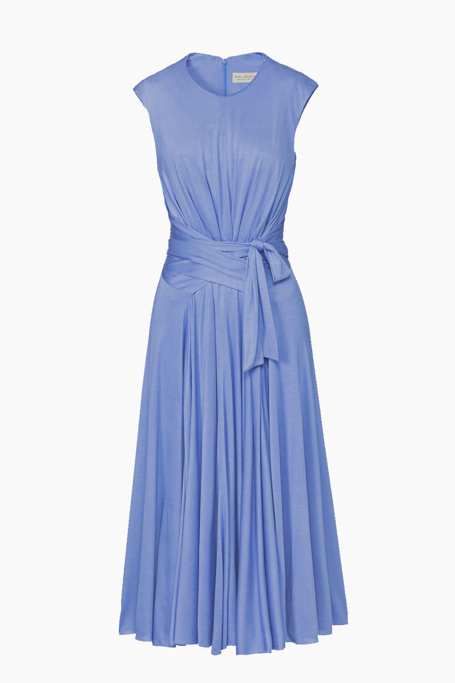 New Lipsy Lace Cold Shoulder Cornflower Blue Dress Sz UK 8 /& 16