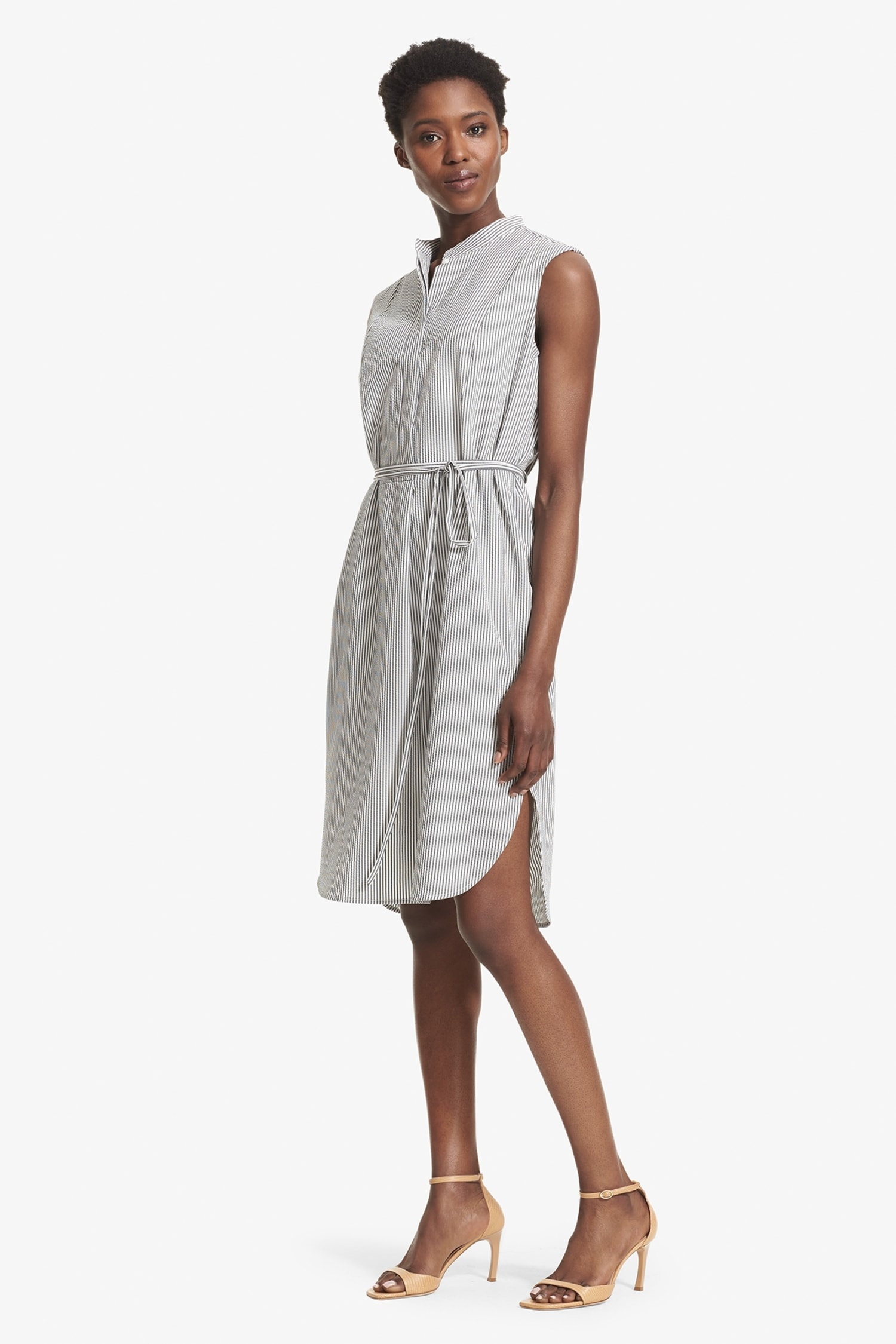 The Gigi Dress—Seersucker