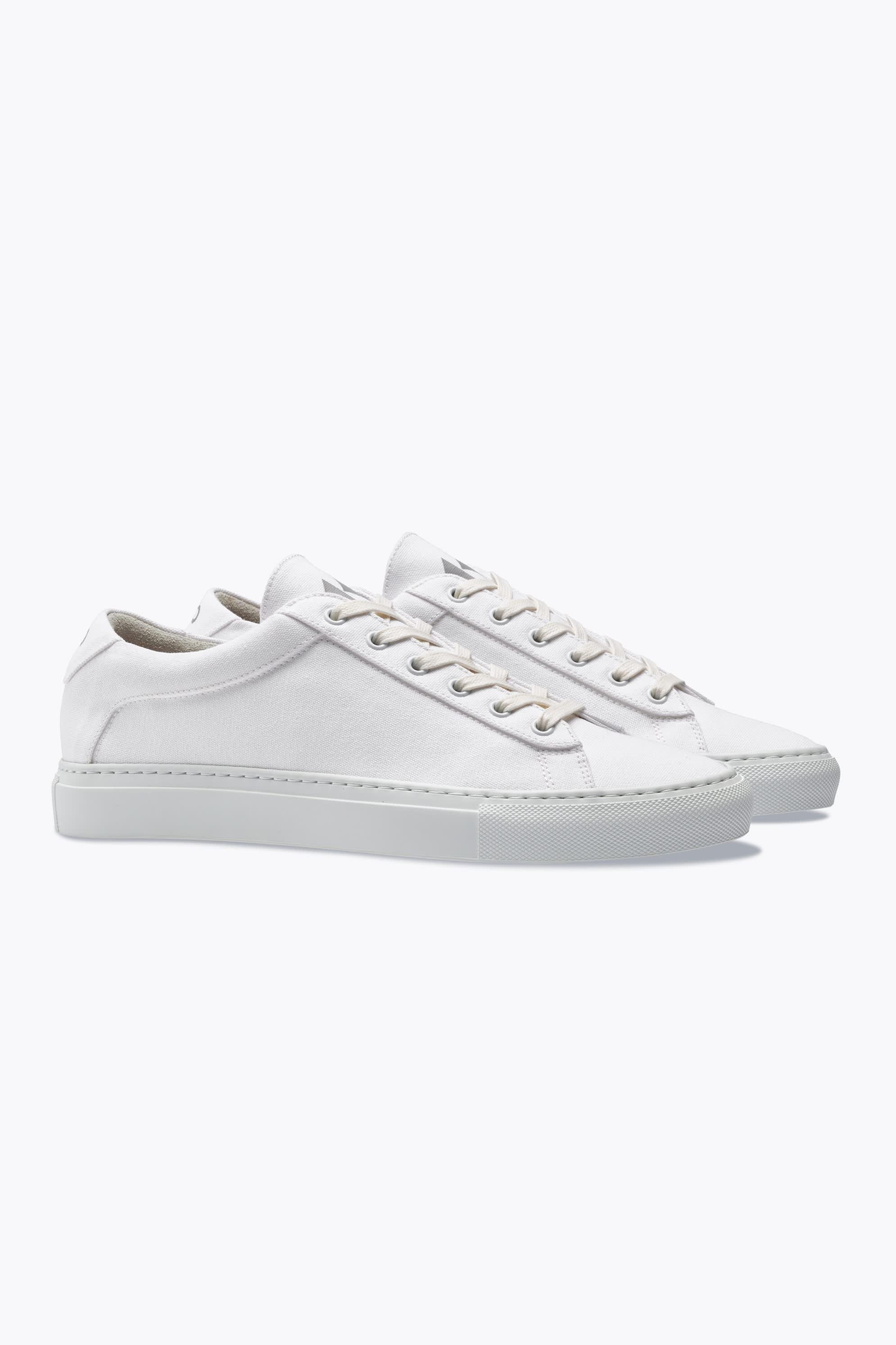 The Koio Capri Bianco Low-Top Sneakers
