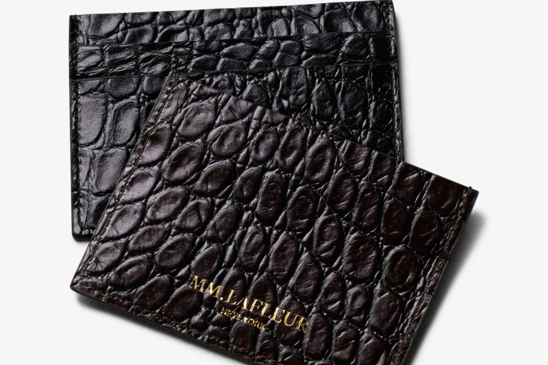 The MM Signature Leather Card Case | MM LaFleur