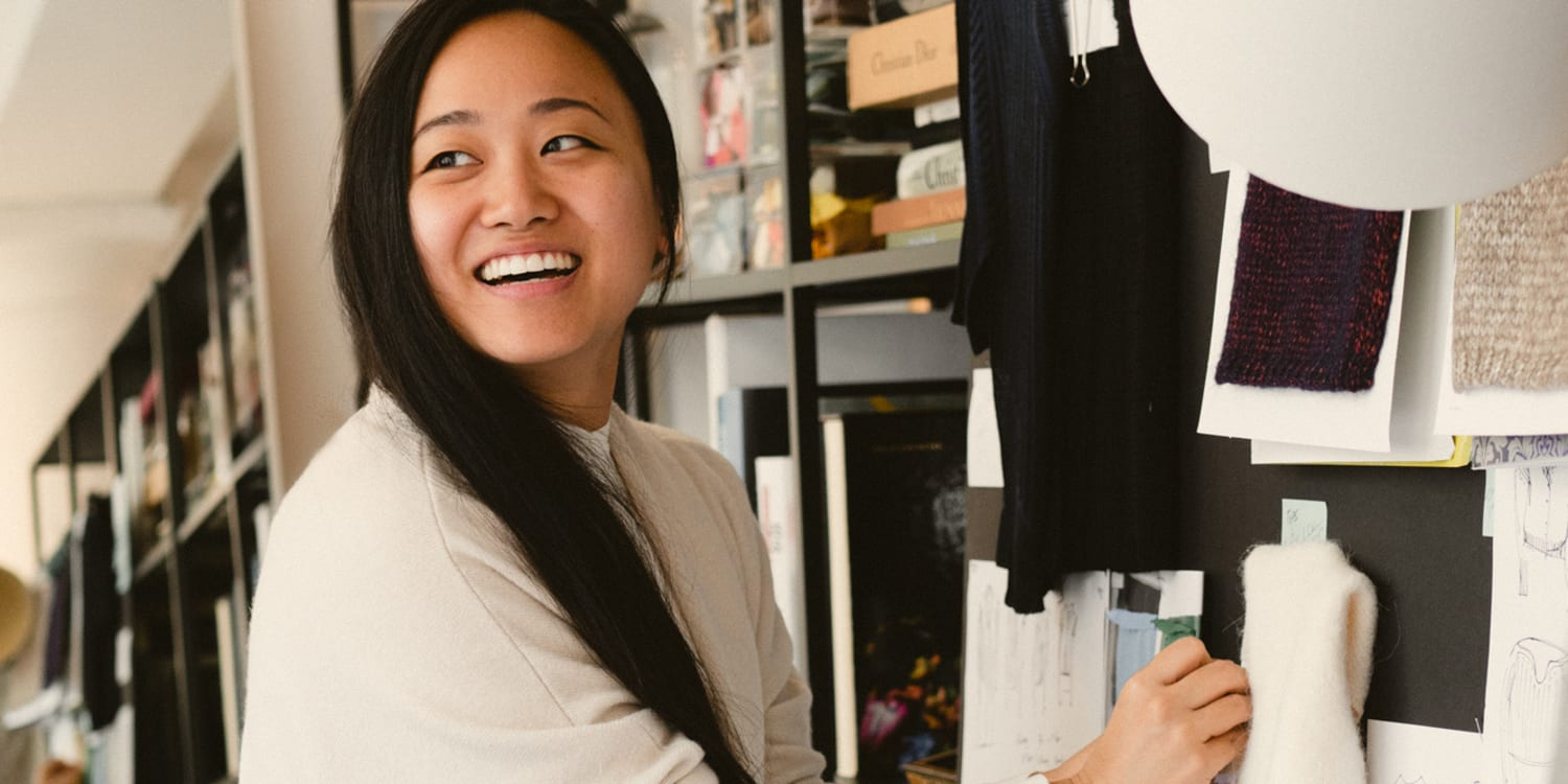 302e461615f Head Knitwear Designer Annie Lim on the Sweater That Started It All