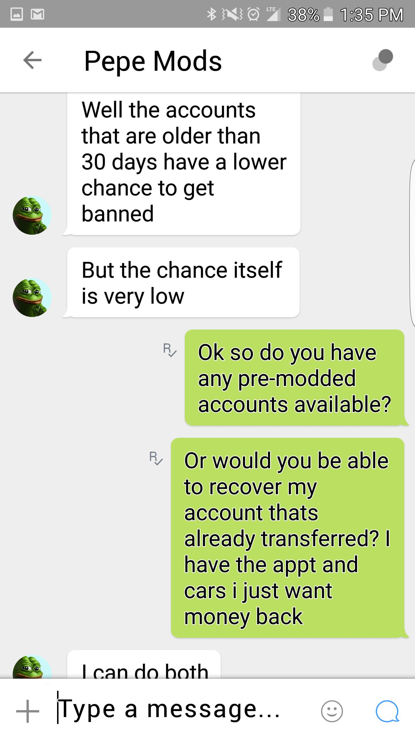 Kik thread
