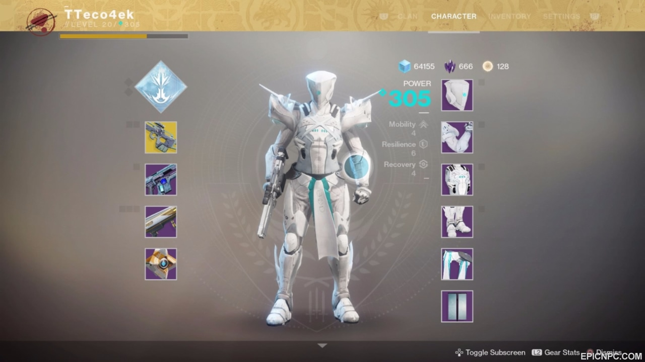 Titan Has All Legendary Sets Of Armor Included Annihilation TofN Raid Prestige Set There Are Absolutely Weapons Antiopa D