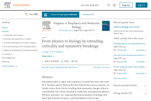 From physics to biology by extending criticality and symmetry breakings